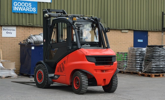Image of new forklift truck